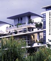 Квартиры в парке Берси. Париж. Архитекторы Жан-Поль Морель и Филипп Ше
