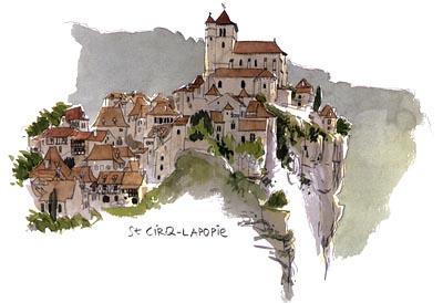 Путевые зарисовки путешественников