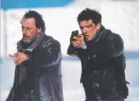 «Пурпурные реки» Матье Кассовитца с Жаном Рено и Винсеном Касселем (2000)