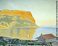 La baie de Cassis (1889), de Paul Signac.