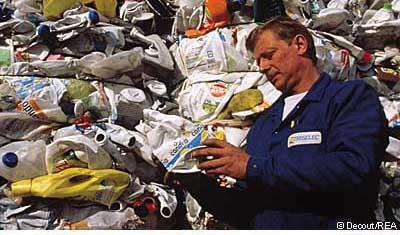 Удаление отходов: передовой отряд Европейского сообщества