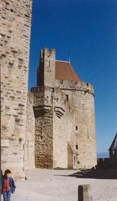 Замок Каркассон.