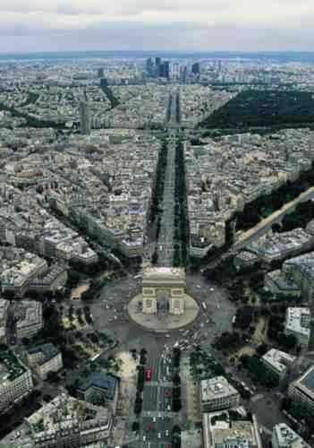 Площадь ЗВЕЗДЫ (Шарля де Голля)